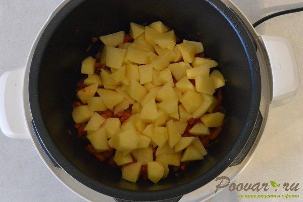 Суп с фрикадельками в мультиварке-скороварке Шаг 11 (картинка)