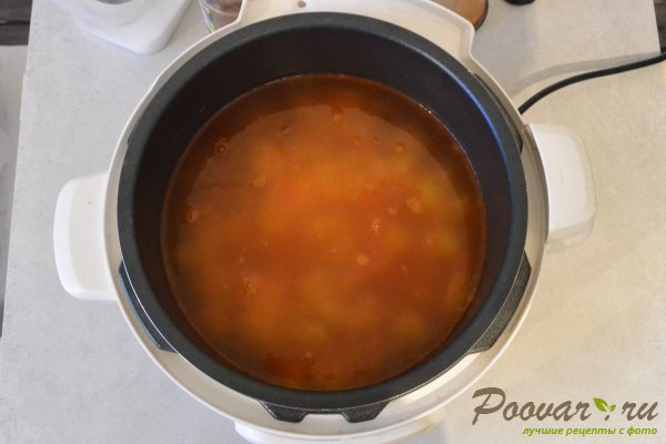 Суп с фрикадельками в мультиварке-скороварке Шаг 12 (картинка)