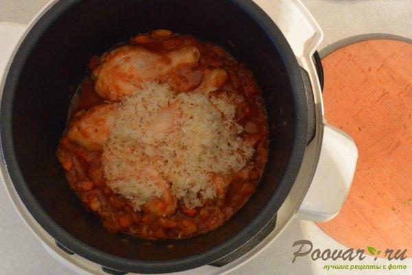 Куриный суп с рисом в мультиварке-скороварке Шаг 9 (картинка)