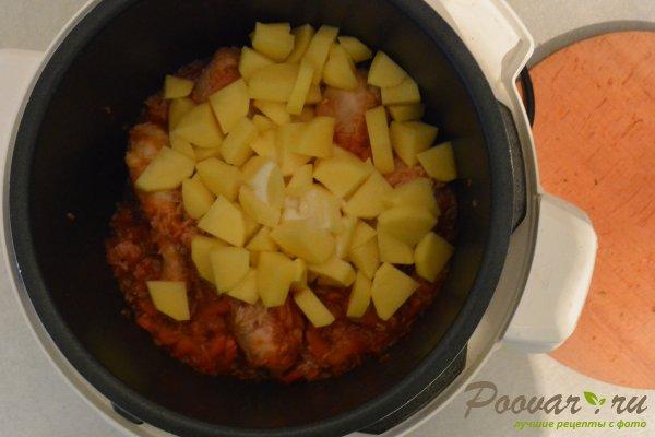 Куриный суп с рисом в мультиварке-скороварке Шаг 10 (картинка)