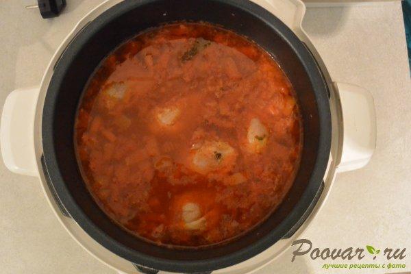 Куриный суп с рисом в мультиварке-скороварке Шаг 13 (картинка)