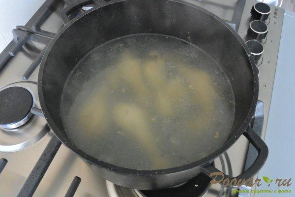 Куриный суп с грибами и фасолью Шаг 3 (картинка)