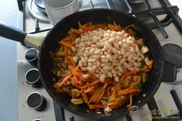 Куриный суп с грибами и фасолью Шаг 10 (картинка)