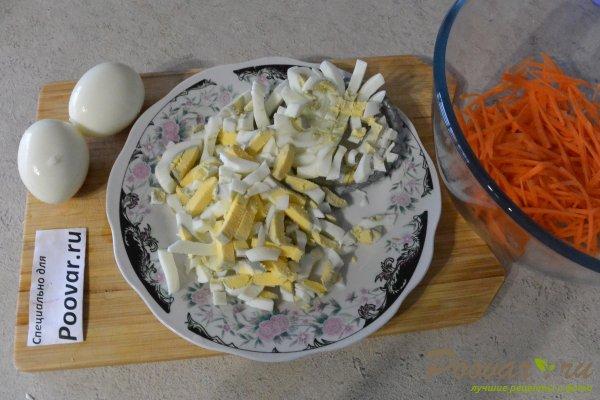 Овощной салат с яйцом и сыром Шаг 2 (картинка)