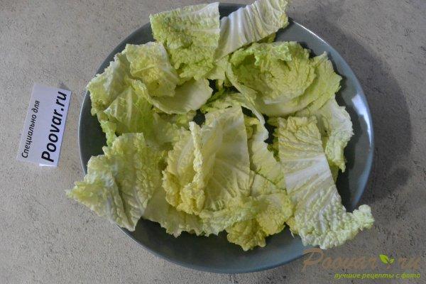 Овощной салат с яйцом и сыром Шаг 9 (картинка)