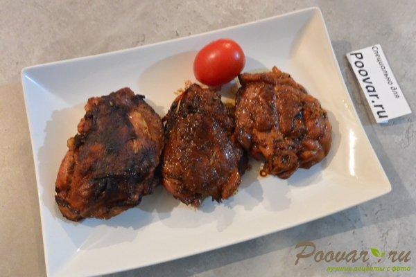 Жареная курица с луком на сковороде Шаг 9 (картинка)