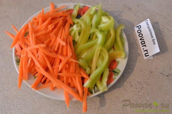 Куриное филе с овощами на сковороде Шаг 5 (картинка)