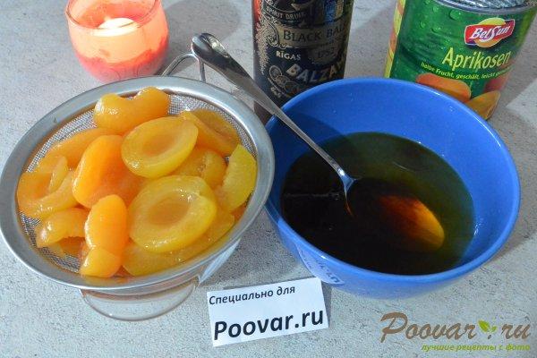 Быстрый тирамису с абрикосами Шаг 1 (картинка)