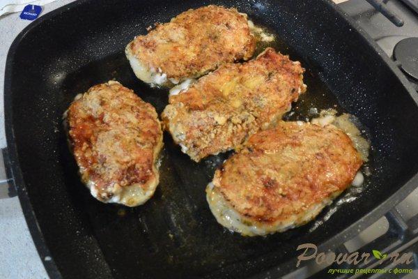 Салат из курицы с зелёным горошком и яйцом Шаг 5 (картинка)