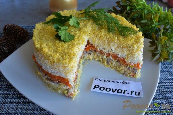 Салат мимоза из запеченных овощей Изображение
