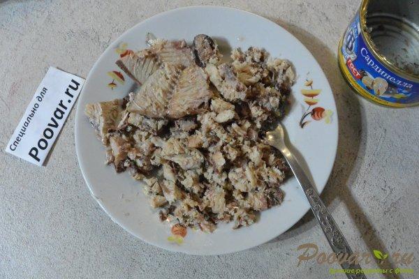 Салат мимоза из запеченных овощей Шаг 10 (картинка)