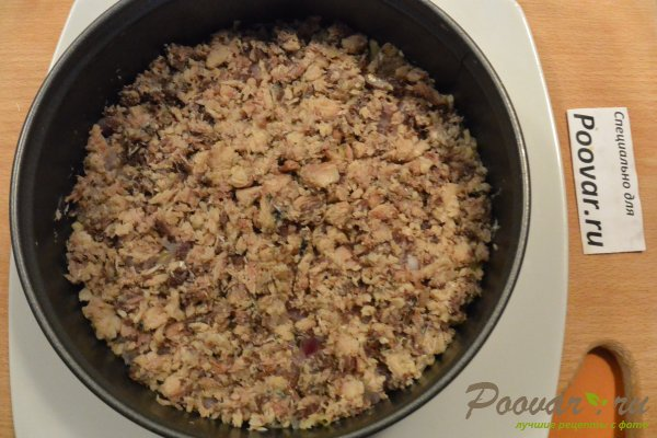 Салат мимоза из запеченных овощей Шаг 11 (картинка)