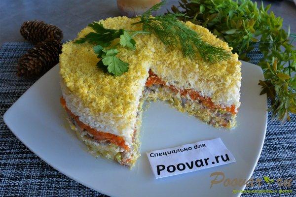 Салат мимоза из запеченных овощей Шаг 19 (картинка)