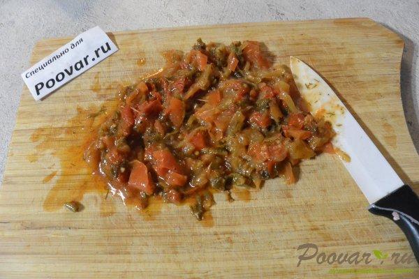 Пирог из лаваша с овощами и мясом Шаг 3 (картинка)