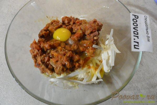 Пирог из лаваша с овощами и мясом Шаг 9 (картинка)