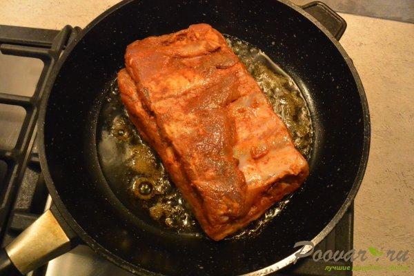 Свиные ребрышки с картофелем в духовке Шаг 6 (картинка)