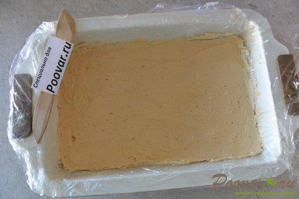 Торт из печенья с кремом из сгущенки и масла Шаг 13 (картинка)