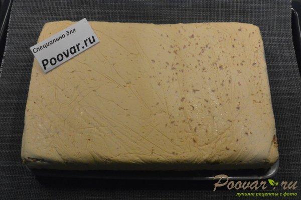 Торт из печенья с кремом из сгущенки и масла Шаг 17 (картинка)