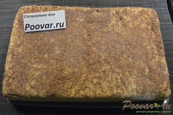 Торт из печенья с кремом из сгущенки и масла Шаг 18 (картинка)