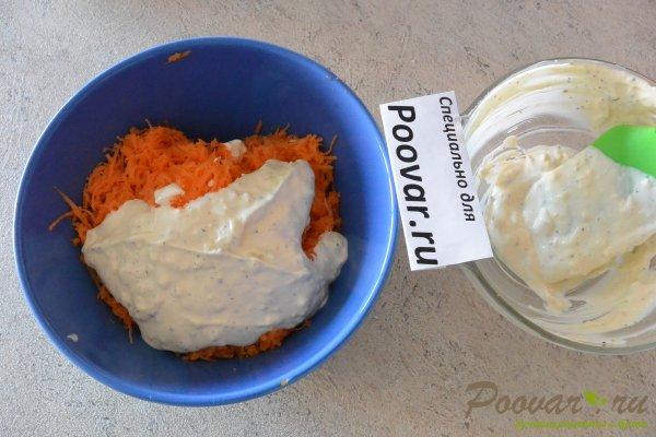 Закуска с сыром, яйцами, чесноком и майонезом Шаг 7 (картинка)