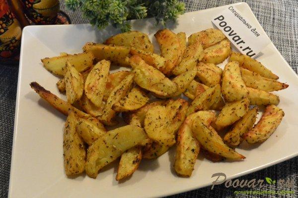 Хрустящий картофель фри в духовке Изображение
