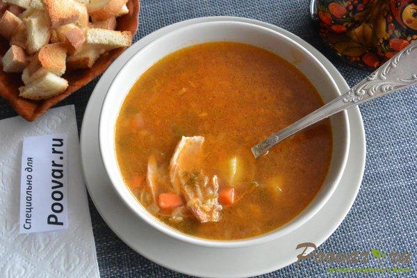 Суп с красной чечевицей и курицей Изображение