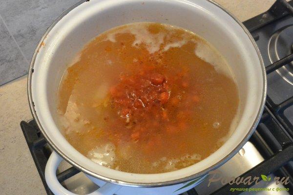 Суп с красной чечевицей и курицей Шаг 11 (картинка)
