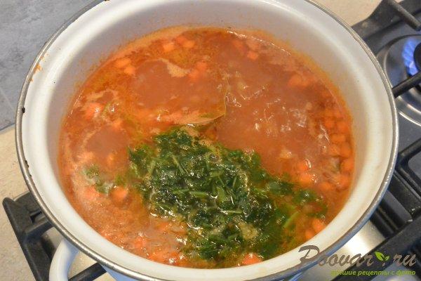 Суп с красной чечевицей и курицей Шаг 12 (картинка)