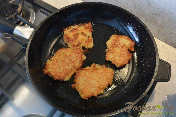 Драники из картофеля без яиц Шаг 15 (картинка)