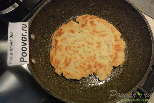 Лепешки без начинки на сковороде Шаг 11 (картинка)