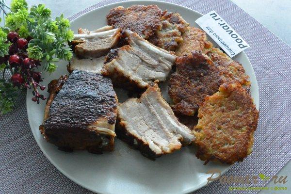 Жареные свиные рёбрышки на сковороде Шаг 11 (картинка)