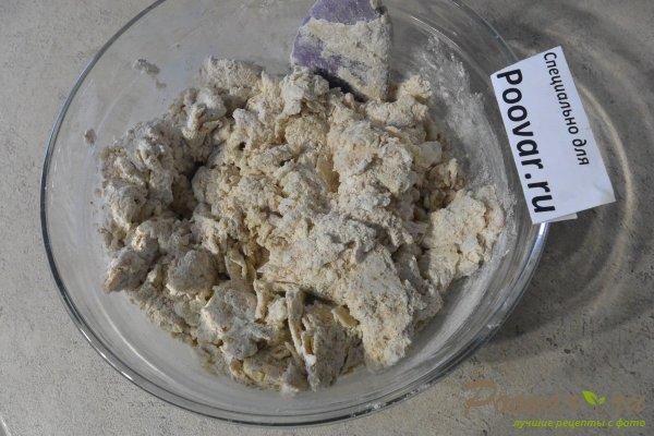 Пресные лепешки на сковороде из отрубной муки Шаг 3 (картинка)