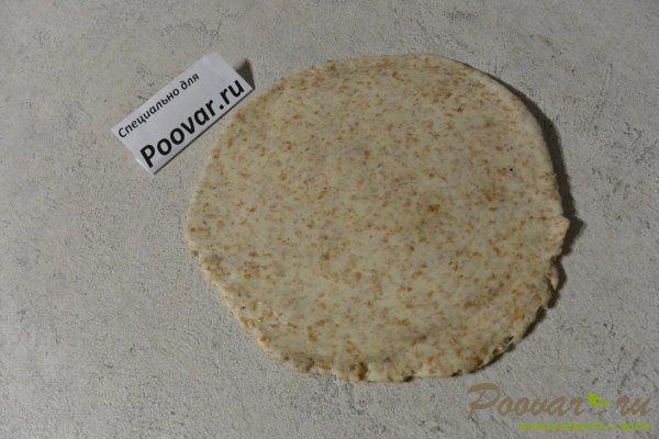 Пресные лепешки на сковороде из отрубной муки Шаг 8 (картинка)