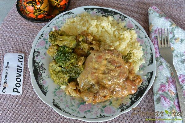 Курица с брокколи в сливочном соусе Шаг 11 (картинка)