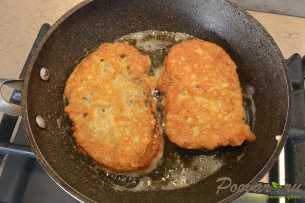 Жареные бутерброды с сыром Шаг 10 (картинка)
