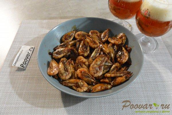 Жареные креветки с чесноком в соевом соусе Шаг 9 (картинка)