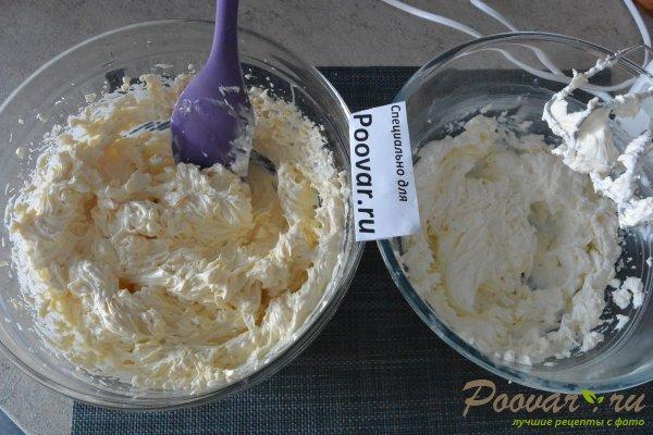 Торт без выпечки из печенья с вишней и кремом Шаг 9 (картинка)