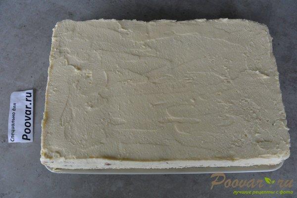Торт без выпечки из печенья с вишней и кремом Шаг 15 (картинка)