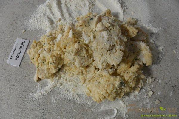 Лепешки из картофельного теста с сыром Шаг 10 (картинка)