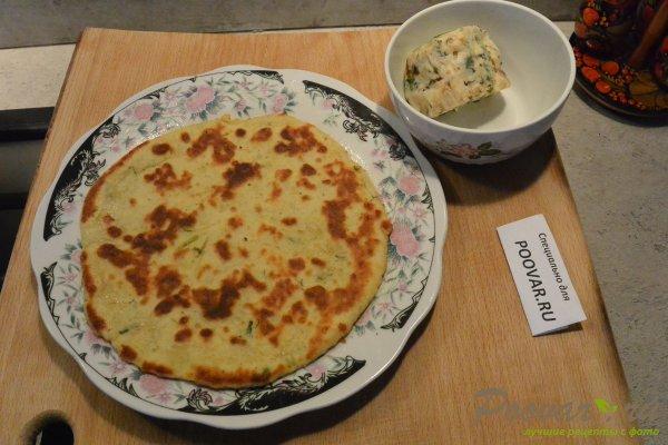 Лепешки из картофельного теста с сыром Шаг 15 (картинка)