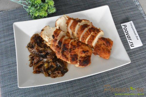 Жареное куриное филе с луком Шаг 9 (картинка)