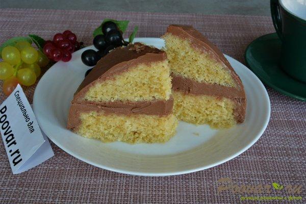 Лимонный торт в микроволновке Изображение