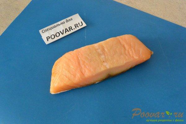 Семга с брокколи в сливочном соусе Шаг 1 (картинка)