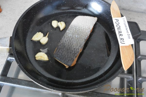 Семга с брокколи в сливочном соусе Шаг 4 (картинка)