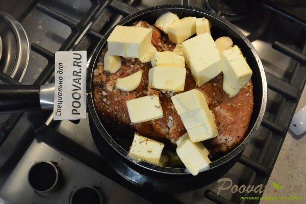 Мясо тушеное в сливочном масле Шаг 8 (картинка)