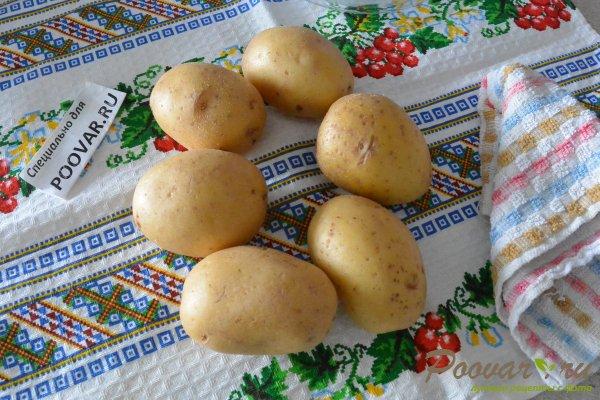 Картофель запеченный в микроволновке Шаг 1 (картинка)