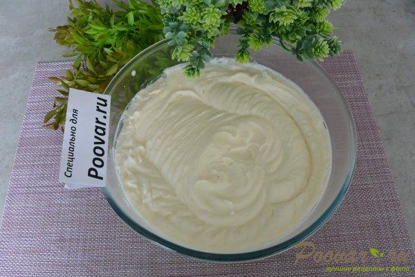 Крем из сливок, сливочного сыра и желатина Изображение