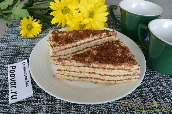 Торт из вафельных коржей с кремом Шаг 19 (картинка)