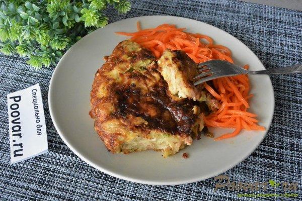 Ленивый пирог из лаваша на сковороде Шаг 13 (картинка)