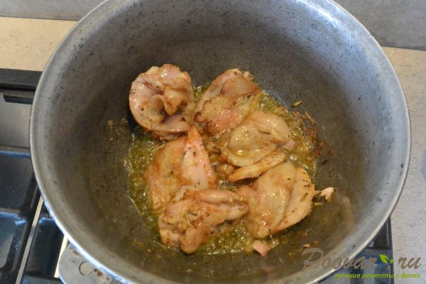 Куриное филе тушеное с овощами Шаг 5 (картинка)